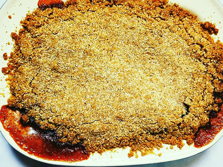 Cooking with the Kids - Crumble