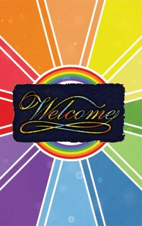 graphic - lgbtq host home welcome mat.jp