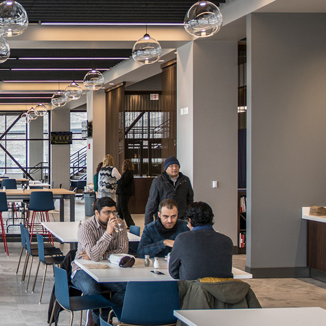 US Cellular Headquarters Cafe