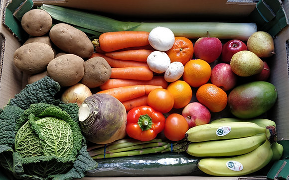 Mixed Seasonal Fruit & Vegetable Box