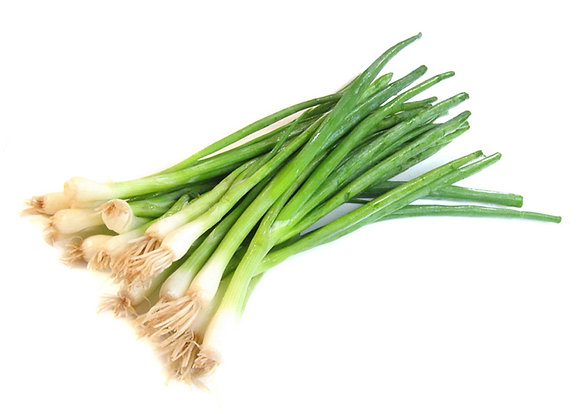 Spring onions English bunch