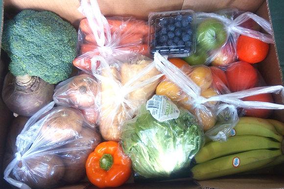 Mixed Seasonal Fruit & Veg & Salad Box