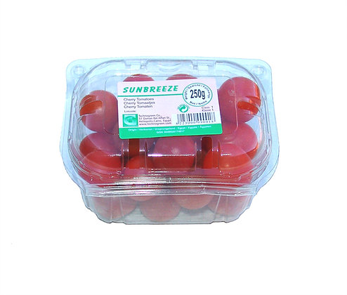Tomatoes cherry punnet English 250g