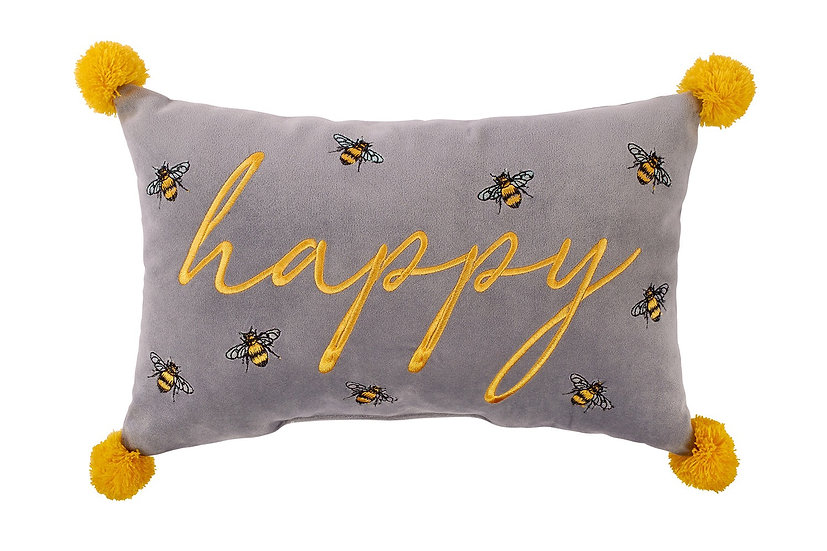 Luxe Bee Cushion