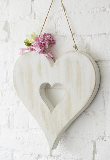 Large Hanging Heart in Heart