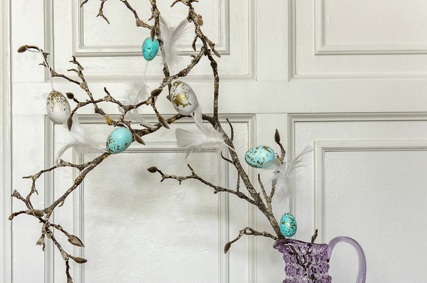 Egg & Feather Garland