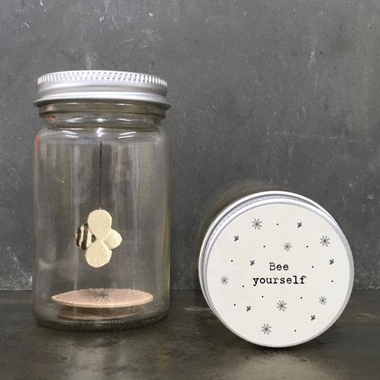 'Bee Yourself' Jar
