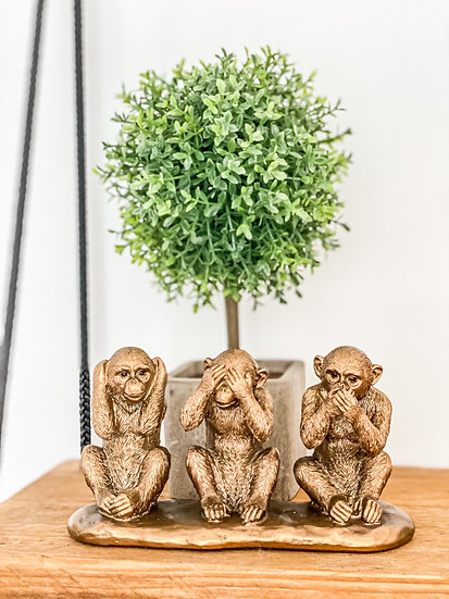 Bronze Three Wise Monkeys