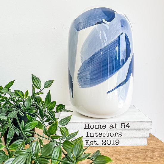 Dolomite Brush Stroke Vase
