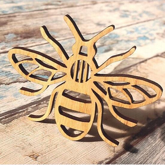 'Bee' Coasters - Set of 4