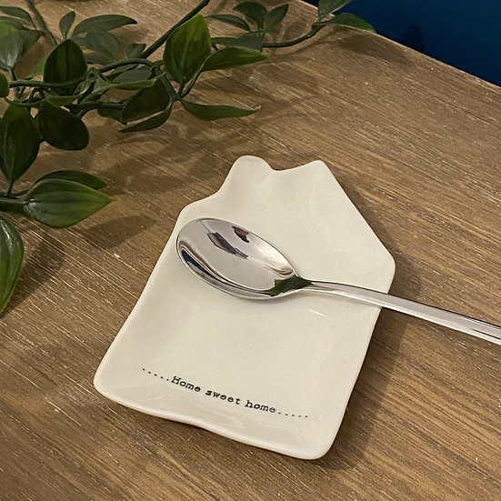 'Home' Tea Spoon Rest