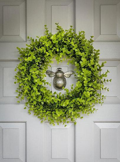 Faux Evergreen Wreath
