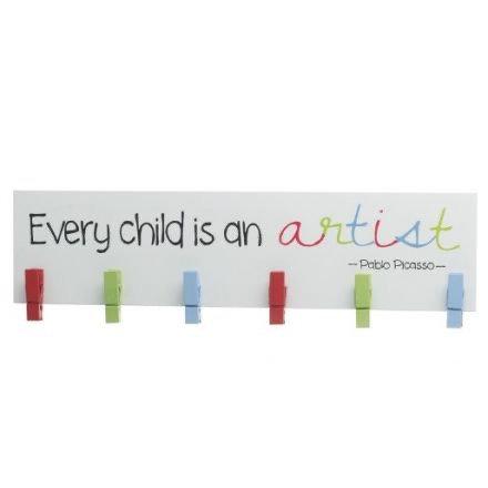 Child Artist Peg