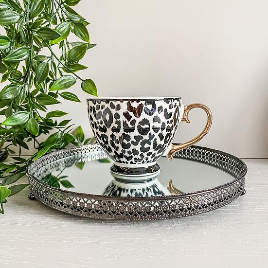 Leopard Luxe Teacup
