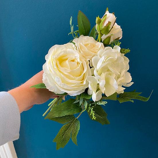 White Tied Flower Bunch