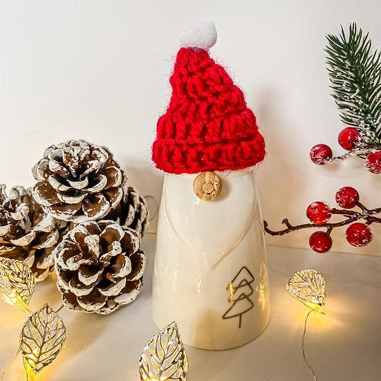 Red Hat Ceramic Gonk