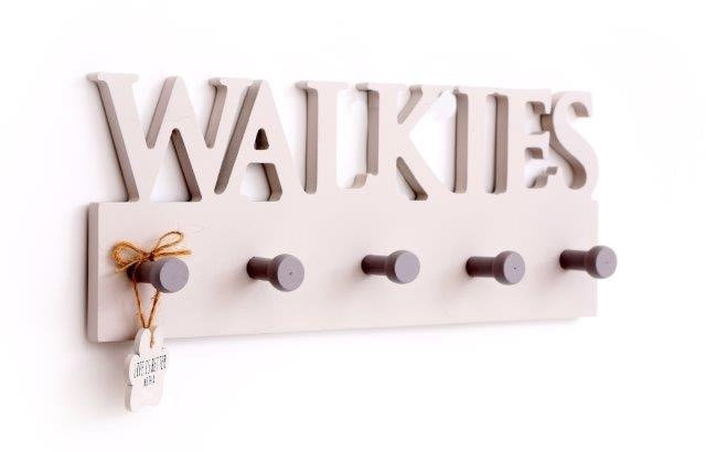 'Walkies' Hooks