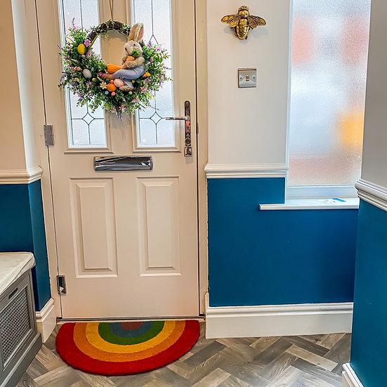 Rainbow Door Mat