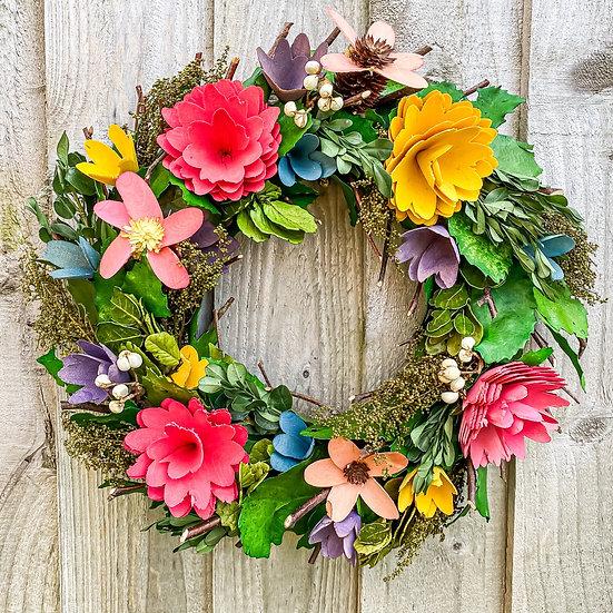 PreOrder Sweetpea Wreath