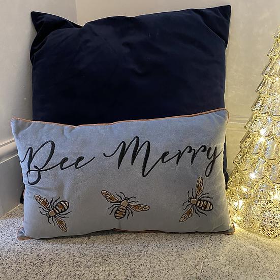 'Bee Merry' Cushion