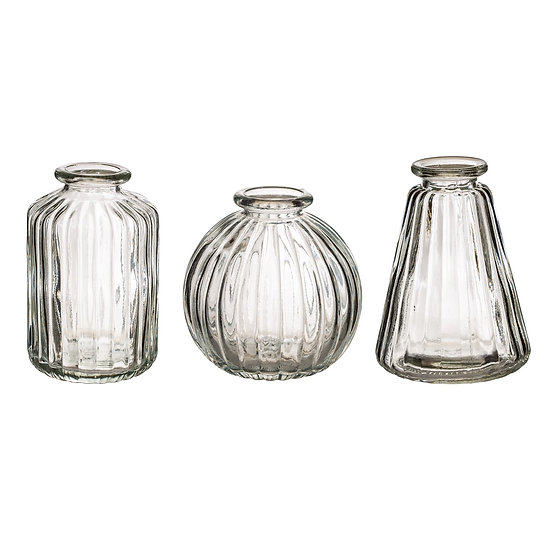 Set of 3 Small Vases