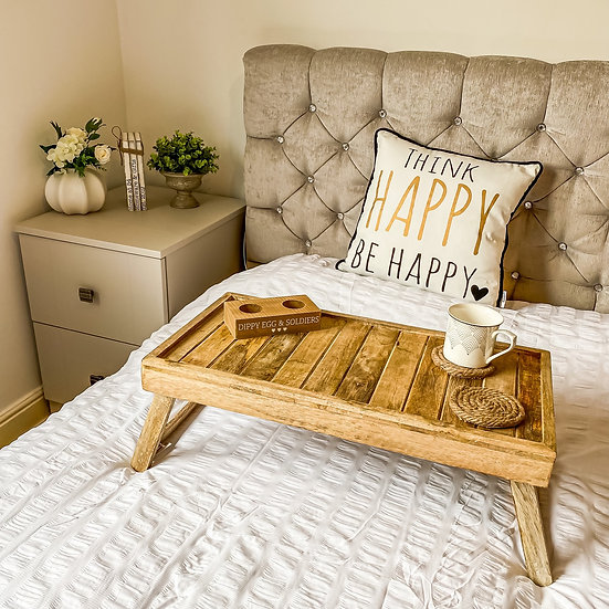 Wooden Bed Tray