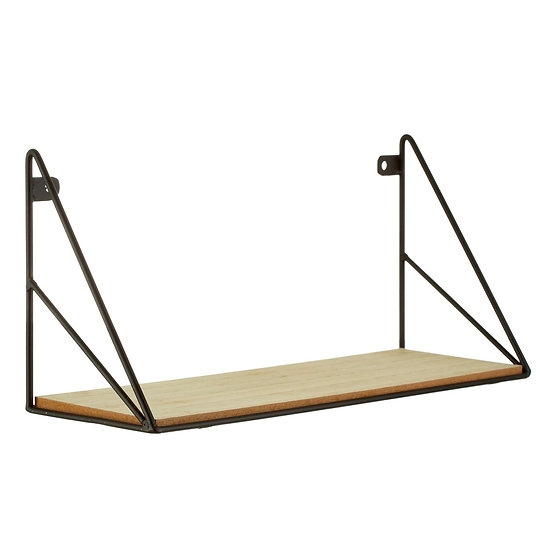 Black Wire Loft Shelf