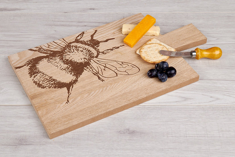 *Imperfect* Bee Serving Board