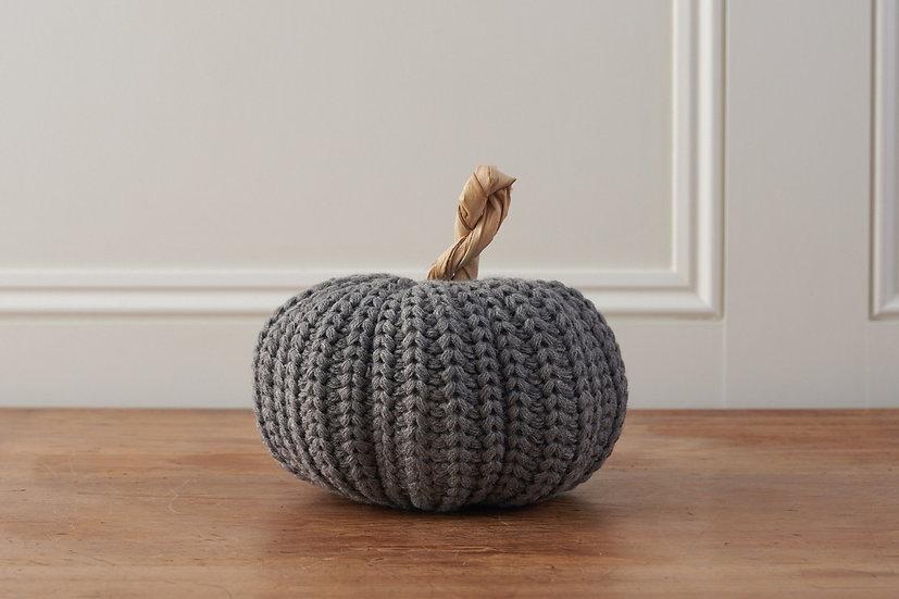 Grey Wool Pumpkin