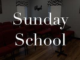 Maranatha Baptist Church Sunday School