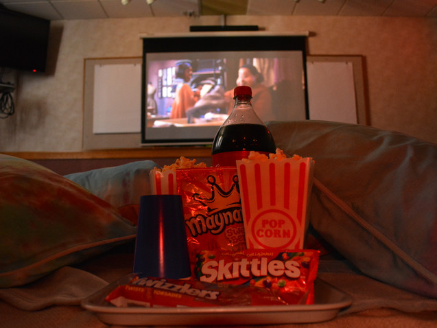 Our Movie Add-On can be added to any stay! Ask Guest Services for more information.