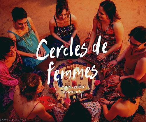 Cercle de femmes - 15/01/21 - Strasbourg