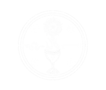 CMR Seal (White, Transparent Background)
