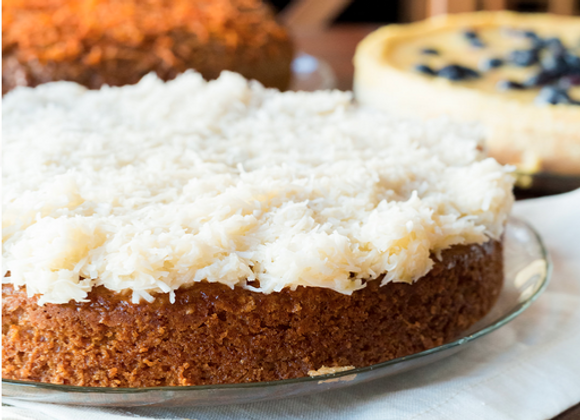 Coconut Pineapple Cake - Vegan