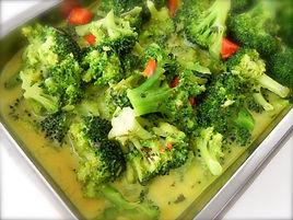 Broccoli in Korma Sauce