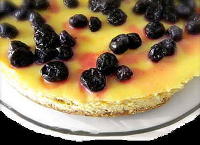 9'' GF Lemon Cheese Cake