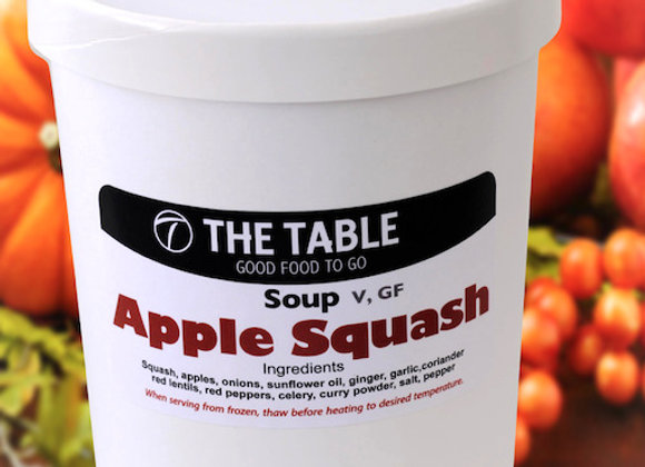 Apple Squash Soup   V, GF  940ml