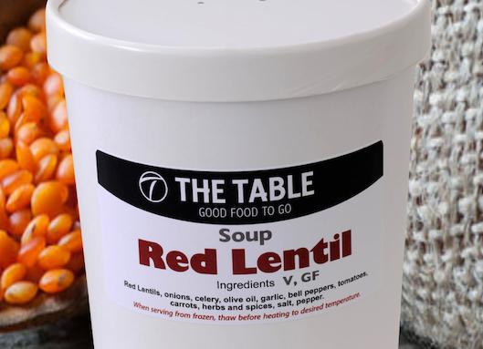 Red Lentil Soup  940 ml  V, GF