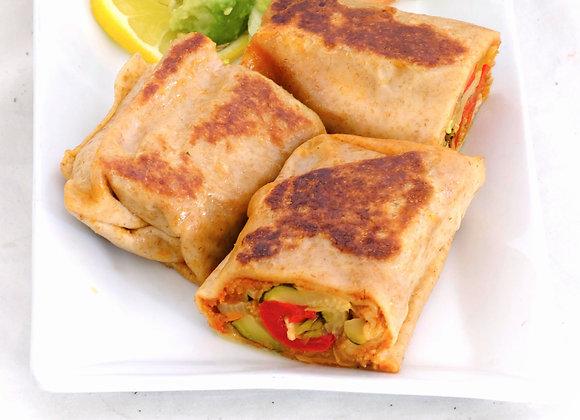 Sundried Chipotle Vegan wraps