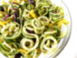 Zuccini and Kalamari Salad