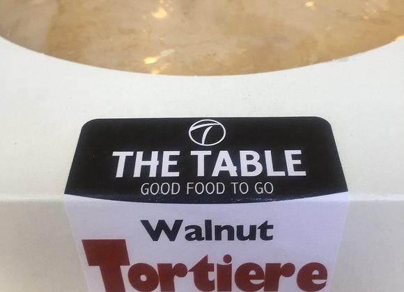 9'' Walnut Tortier   V, GF