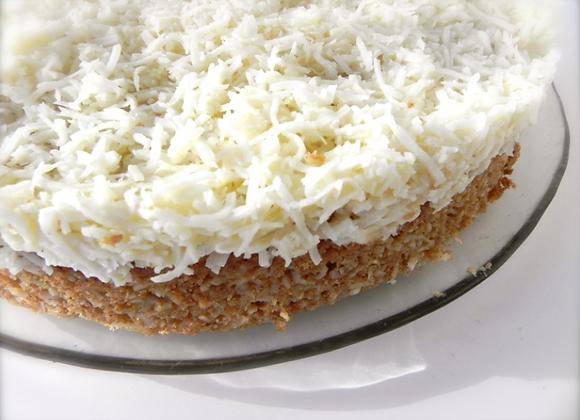 9'' Coconut Cake-Vegan