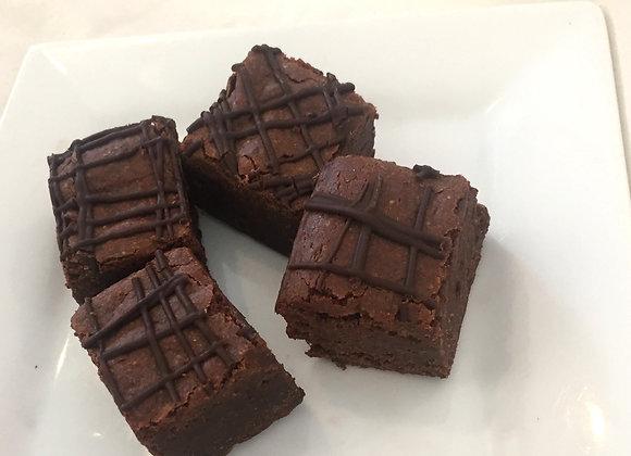Avocado Brownies  V, GF  4/pkg