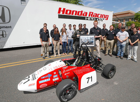Honda STEAM Connections Tour, Hinchcliffe Rev Up Alabama Crowd