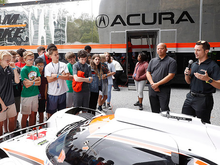 ACURA STEAM CONNECTIONS TOUR, CAMERON VISIT CU-ICAR
