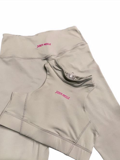 SM Seamless Crop Top & Legging Set