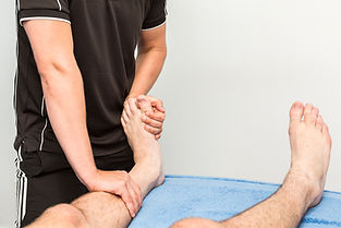 Injury assessment Lutterworth Pain and Injury Clinic Rehab