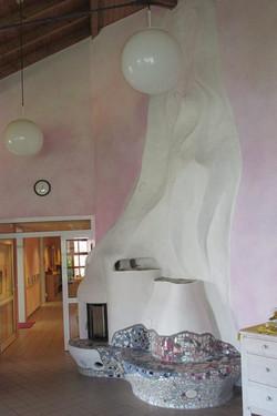 Ofen-Skulptur