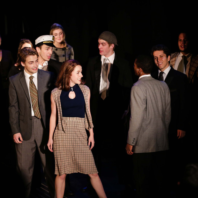 merrily we roll along @ the new studio on broadway
