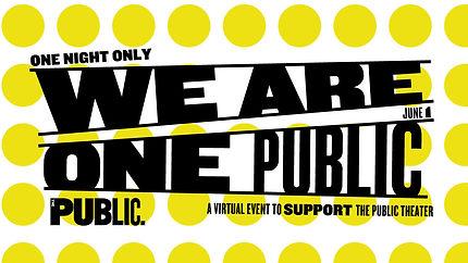 We Are One Public - Public Theatre Gala